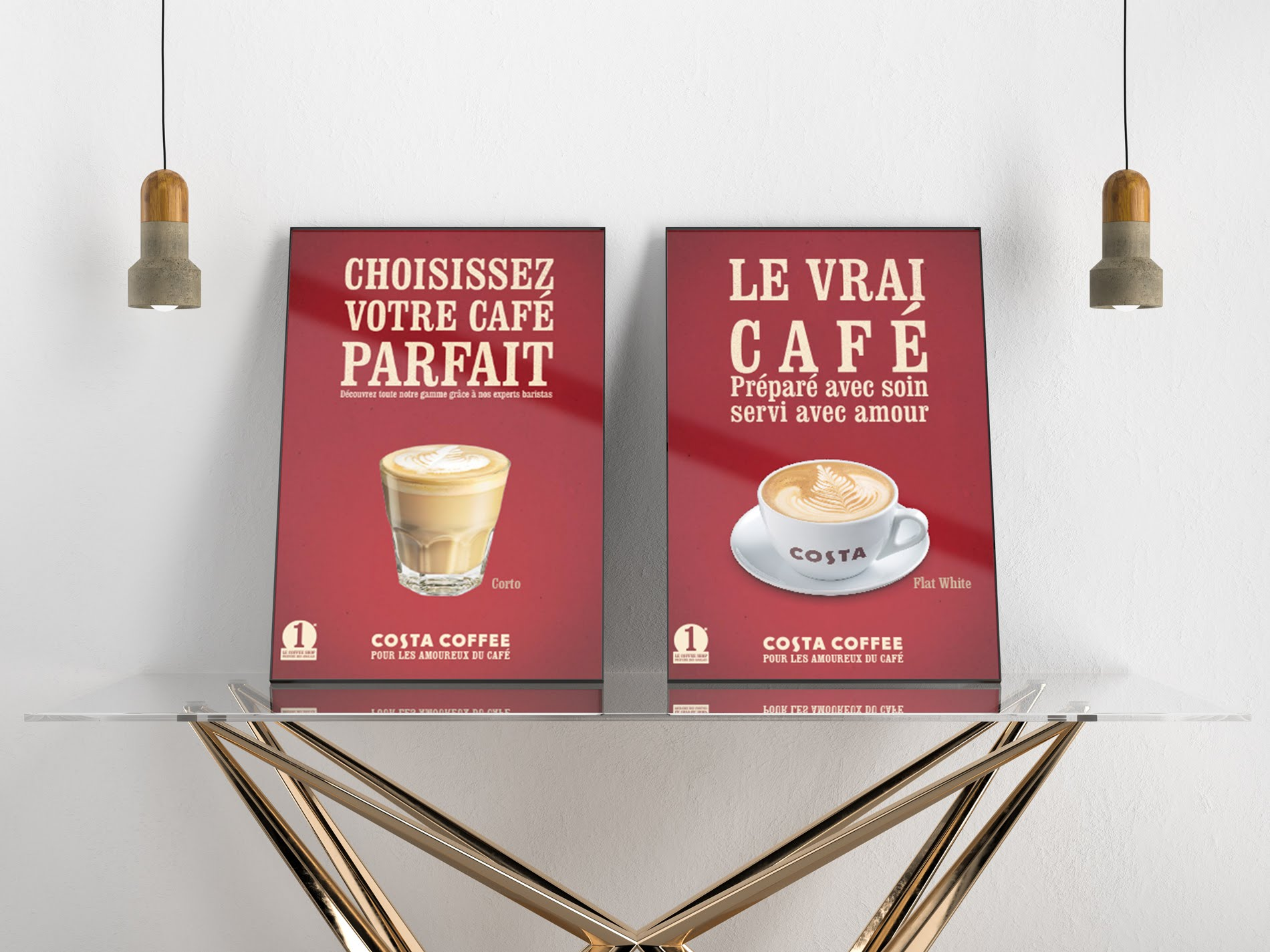 Agence communication Tournai - costa coffee
