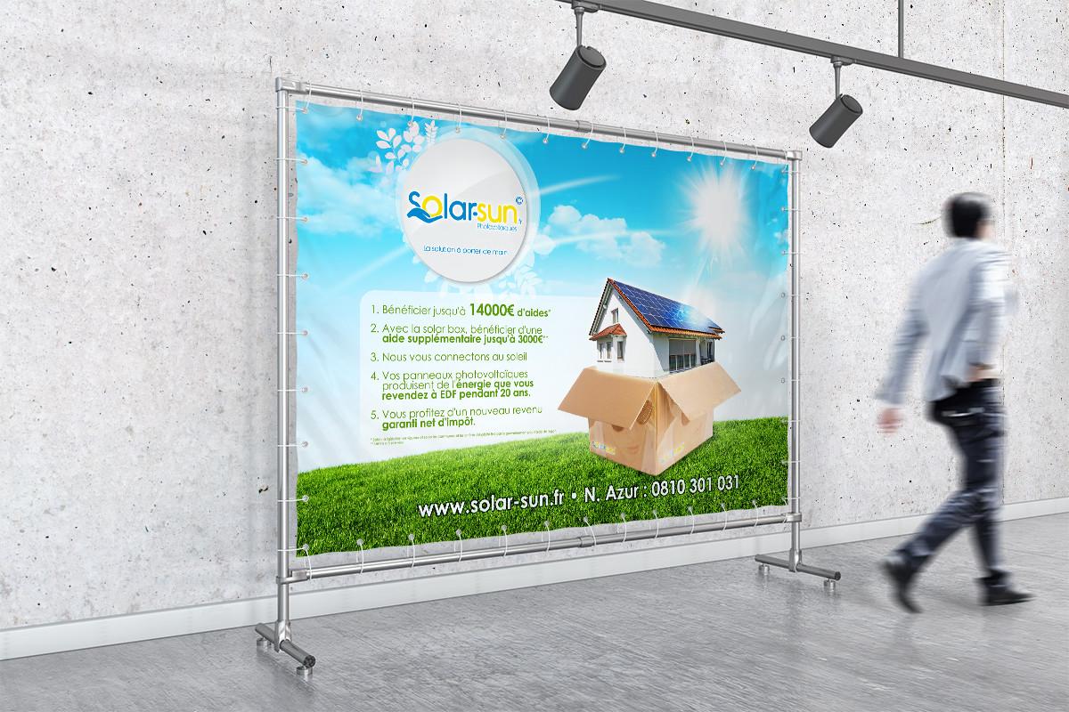 Agence communication Tournai - Solar Sun